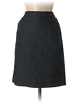 Boston Proper Denim Skirt Size 2