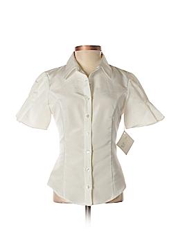 Katherine Kidd Short Sleeve Button-Down Shirt Size 2