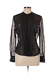 Elie Tahari Women Long Sleeve Blouse Size L
