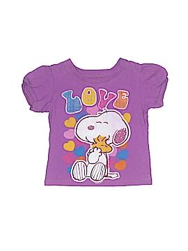 Peanuts Short Sleeve T-Shirt Size 12 mo