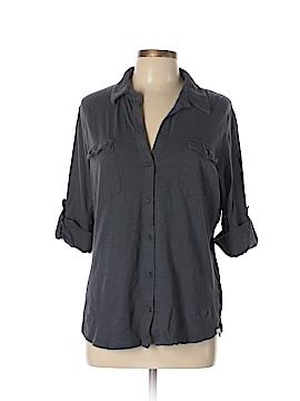 Caslon 3/4 Sleeve Button-Down Shirt Size XL