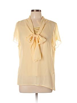 St. John Short Sleeve Silk Top Size 14