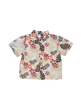 Vitamin Kids Short Sleeve Button-Down Shirt Size 18 mo
