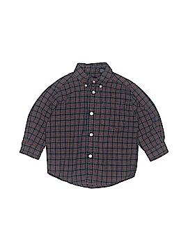 Gap Long Sleeve Button-Down Shirt Size XX-Small  kids