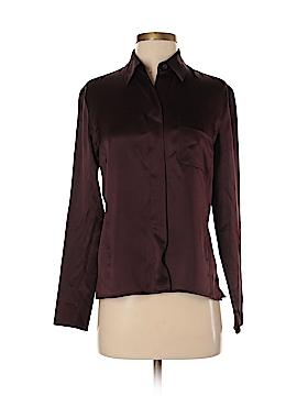 Emanuel by Emanuel Ungaro Long Sleeve Silk Top Size 2