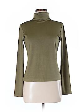 Linda Allard Ellen Tracy Long Sleeve Silk Top Size M (Petite)