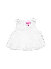 Lilly Pulitzer Girls Sleeveless Blouse Size 7 - 8
