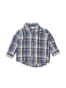 Timberland Long Sleeve Button-Down Shirt Size 18 mo