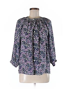 Creme Fraiche 3/4 Sleeve Silk Top Size XS