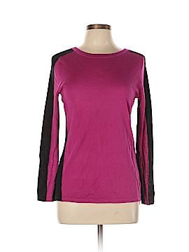 Halogen Silk Pullover Sweater Size L (Petite)