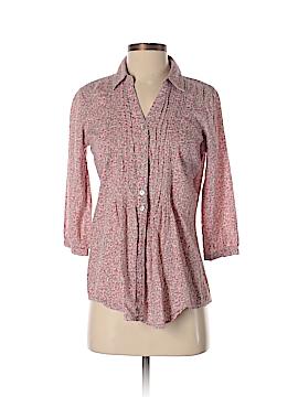 Aventura 3/4 Sleeve Button-Down Shirt Size S