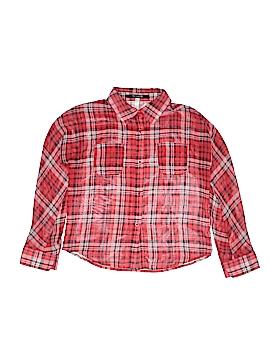 KensieGirl Long Sleeve Blouse Size L (Kids)