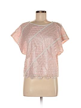 Tibi Short Sleeve Blouse Size M