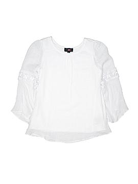 Iz Byer Long Sleeve Blouse Size X-Large (Youth)