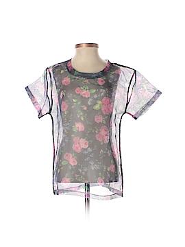 Carven Short Sleeve Blouse Size XS