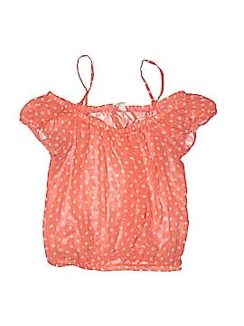 Iris Basic Short Sleeve Blouse Size S