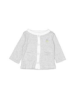Precious Firsts Long Sleeve Button-Down Shirt Newborn