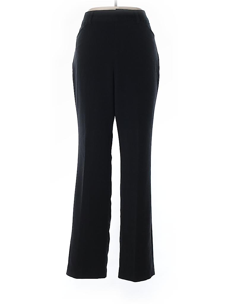 Nine West Solid Black Dress Pants Size 10 - 86% off  453e9c6646