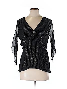 Spenser Jeremy 3/4 Sleeve Silk Top Size M