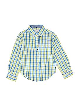 Peek... Long Sleeve Button-Down Shirt Size 4 - 13