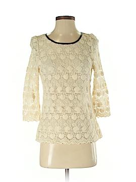 C.Luce 3/4 Sleeve Blouse Size S
