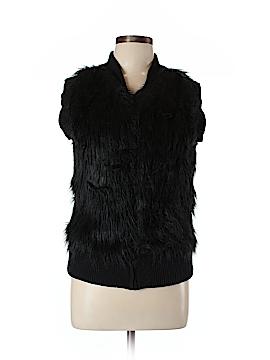I Heart Ronson Faux Fur Vest Size L