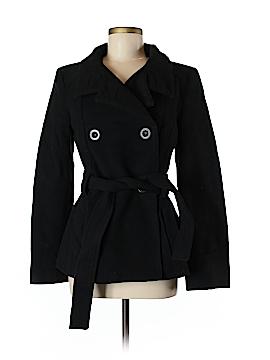 Zara Basic Wool Coat Size 8