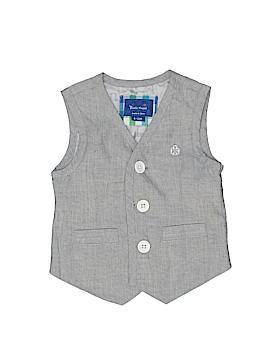 Beetle & Thread Tuxedo Vest Size 6-12 mo