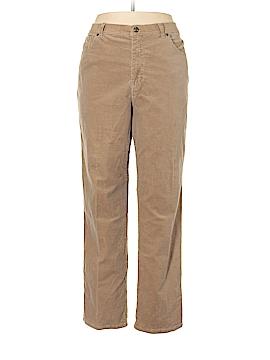 Gloria Vanderbilt Cords Size 18 (Plus)