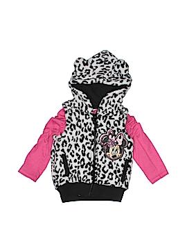 Disney Faux Fur Vest Size 12 mo