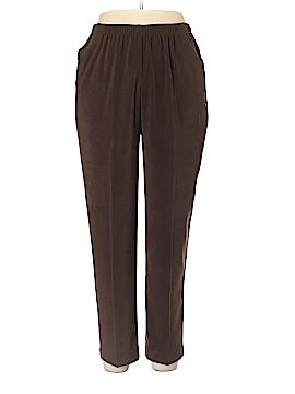 C.D. Petites Casual Pants Size L