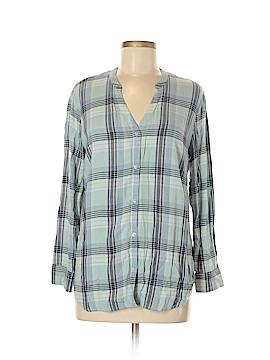 Soft Joie Long Sleeve Button-Down Shirt Size XXS