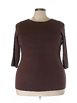 Roz & Ali Pullover Sweater Size 2X (Plus)