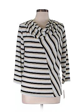 Ellen Tracy 3/4 Sleeve Top Size L