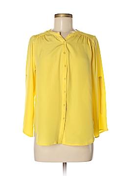 Bar III Long Sleeve Blouse Size M