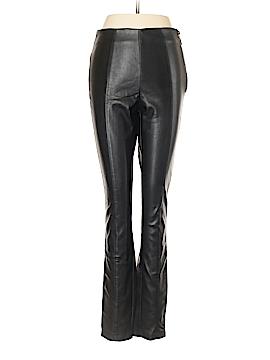 Topshop Faux Leather Pants Size 6