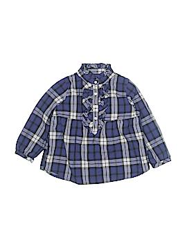 Chaps Long Sleeve Blouse Size 24 mo