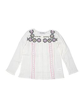 Jak & Peppar Long Sleeve Blouse Size 7