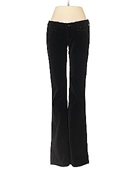Paige Velour Pants 27 Waist