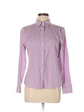 Banana Republic Long Sleeve Button-Down Shirt Size 8 (Petite)