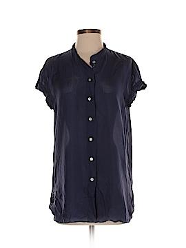 Calypso St. Barth Short Sleeve Silk Top Size S