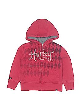 Hurley Zip Up Hoodie Size 4T