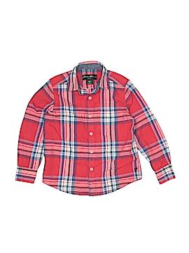 Eddie Bauer Long Sleeve Button-Down Shirt Size 4