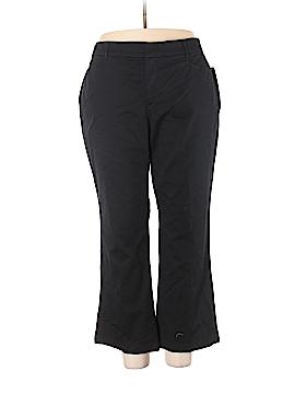 JM Collection Khakis Size 24W (Plus)