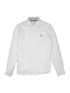 H&M L.O.G.G. Long Sleeve Button-Down Shirt Size 13-14