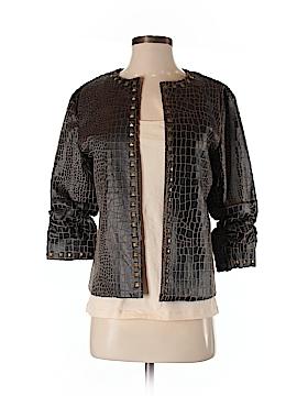Donna Salyers' Fabulous Furs Faux Leather Jacket Size S