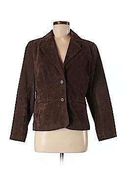 Relativity Leather Jacket Size M