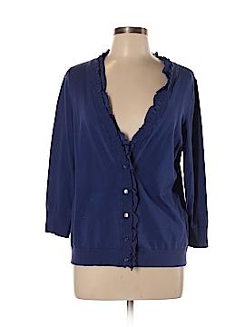 Amber Sun Silk Cardigan Size L