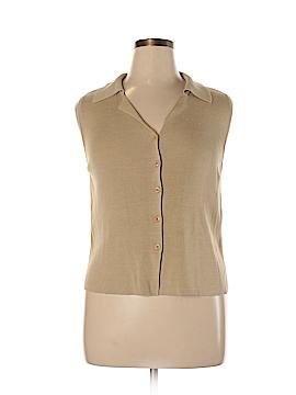 NY&Co Short Sleeve Silk Top Size XL