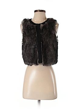 BCBGeneration Faux Fur Vest Size XS